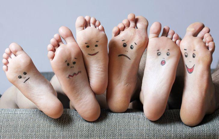 personalidad y pies