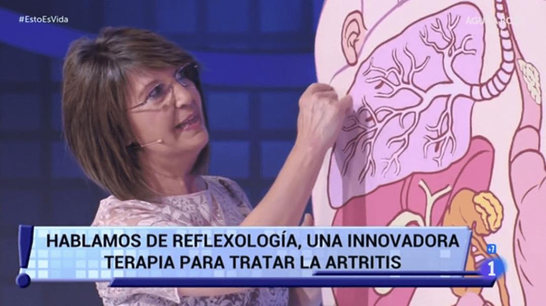 Artritis Reumatoide y Reflexología Podal