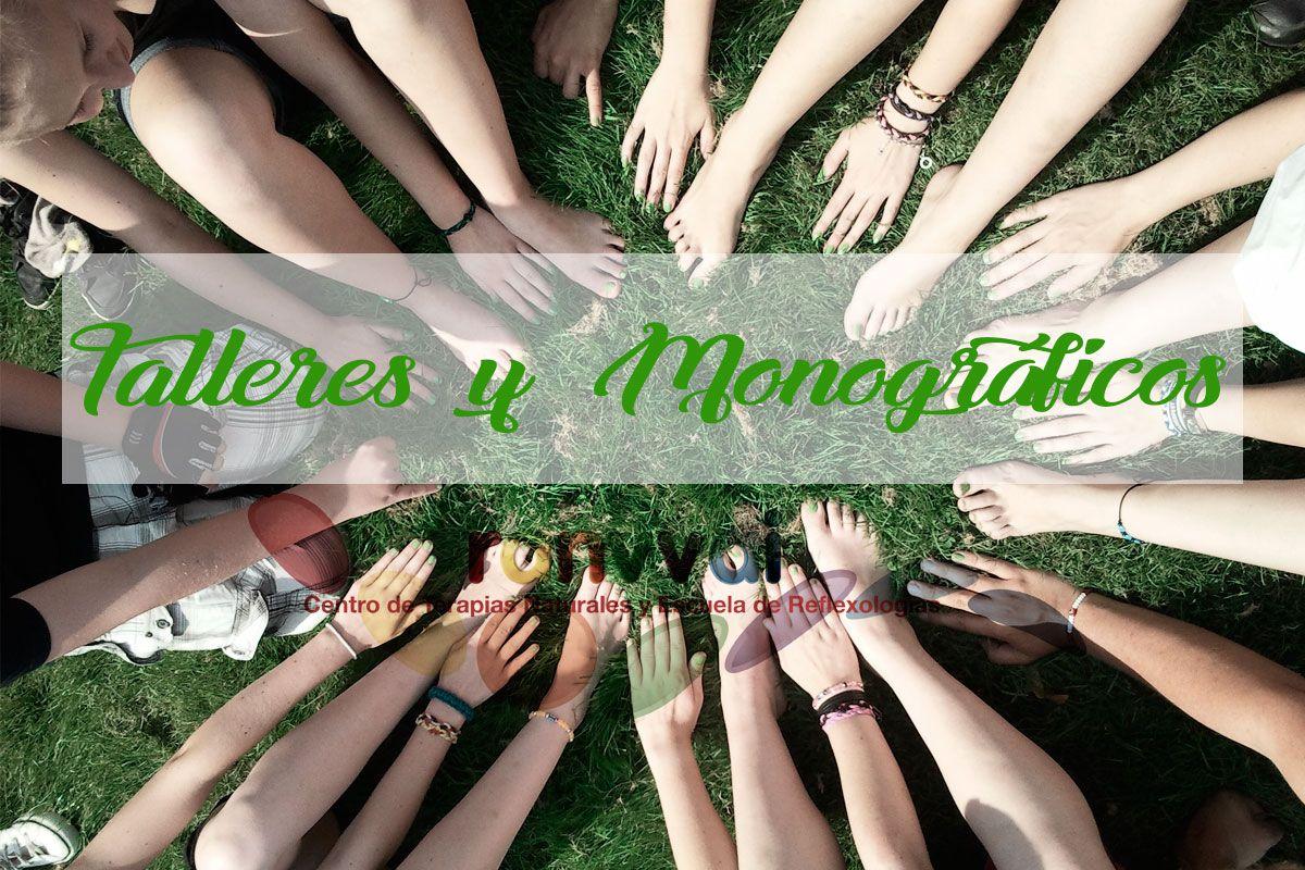 Cursos de reflexología podal - Monográficos y Talleres - Ranvvai