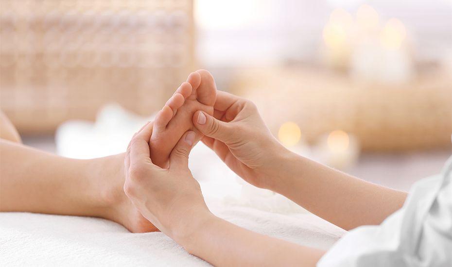 Reflexología: El cuidado más relajante